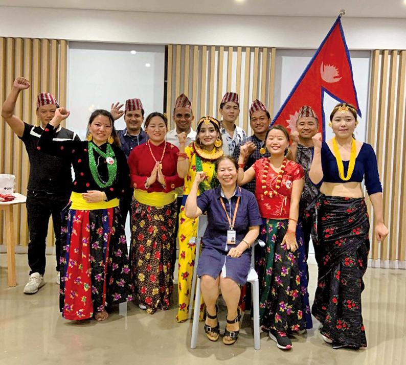 맞춤형 다문화 프로그램 참여 열기 '후끈'