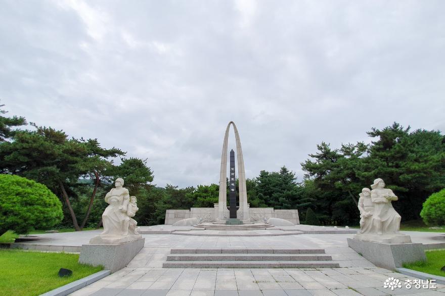 천안 중앙소방학교 소방충혼탑을 돌아보며 10