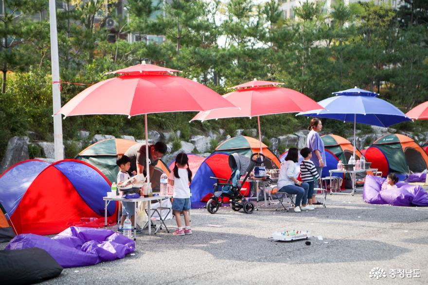 다양한 활동과 함께 즐기는 '도심 캠핑'