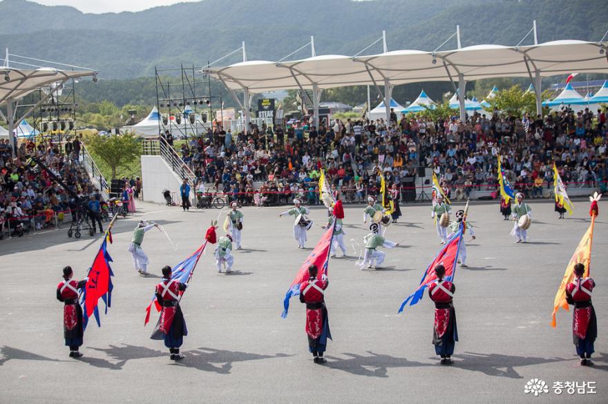 완연한 가을 계룡軍문화축제에서 휴일 만끽