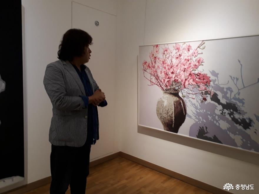 2019년 당진 올해의 작가 최상근 개인전 6