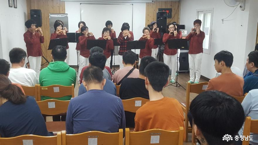 생활개선천안시연합회, 복지시설에 아름다운 음악 선사! 1