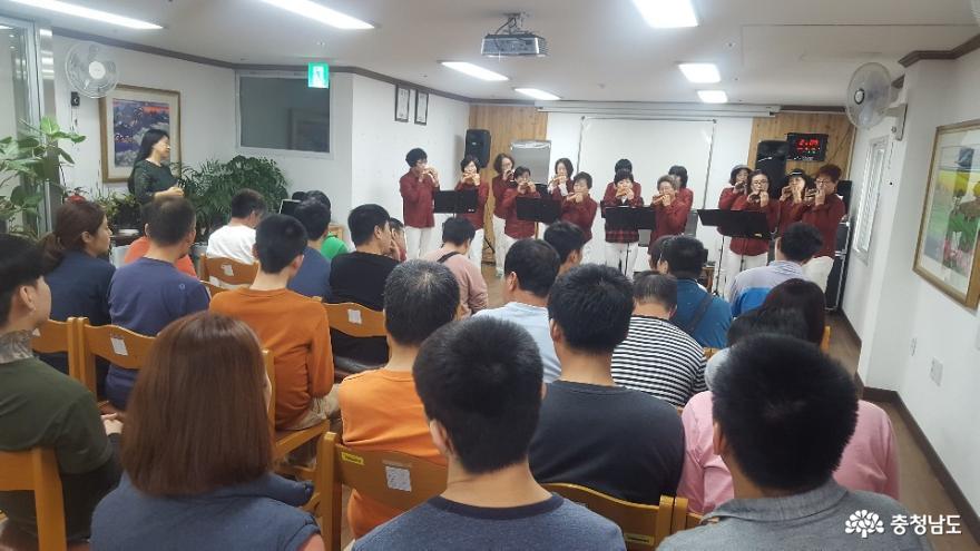 생활개선천안시연합회, 복지시설에 아름다운 음악 선사! 2