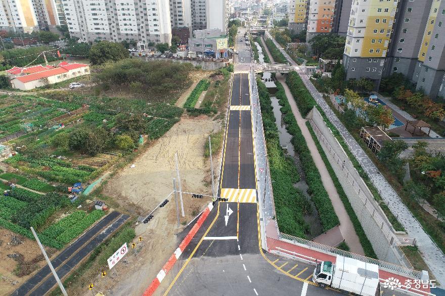 아산시, 10여년 해묵은 도시계획도로 드디어 개설