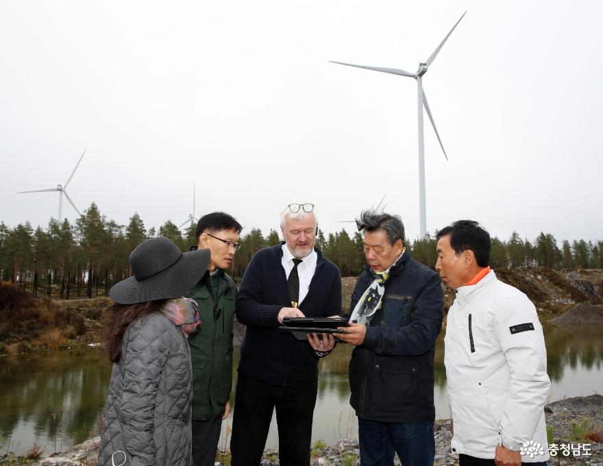 가세로 태안군수, 핀란드·덴마크 방문 '선진 해상풍력 배운다!' 1