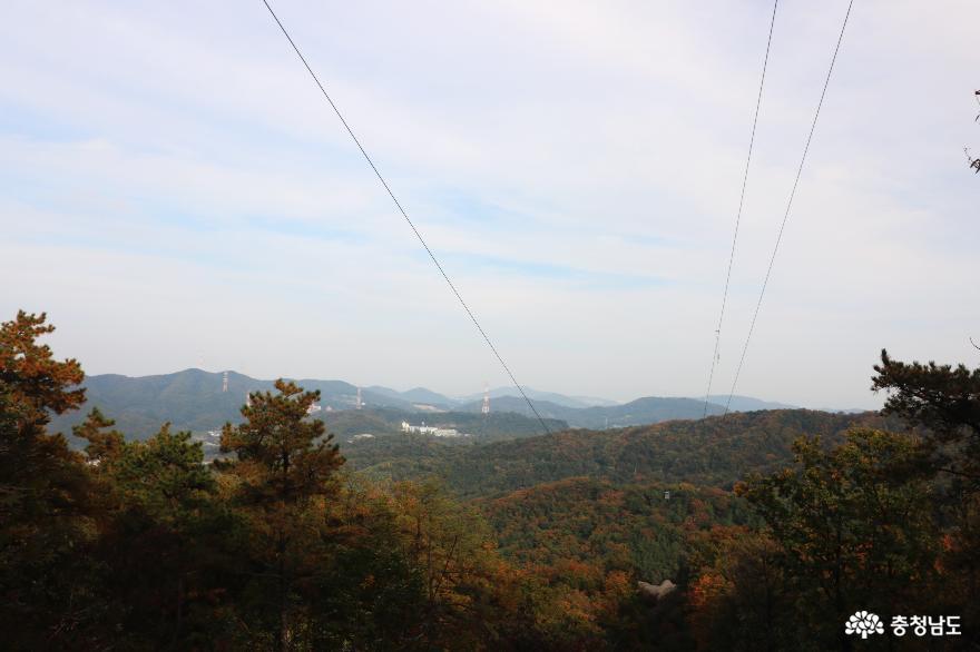 오색빛깔 가을 단풍과 해질녁 노을풍경이 예쁜  영인산 6
