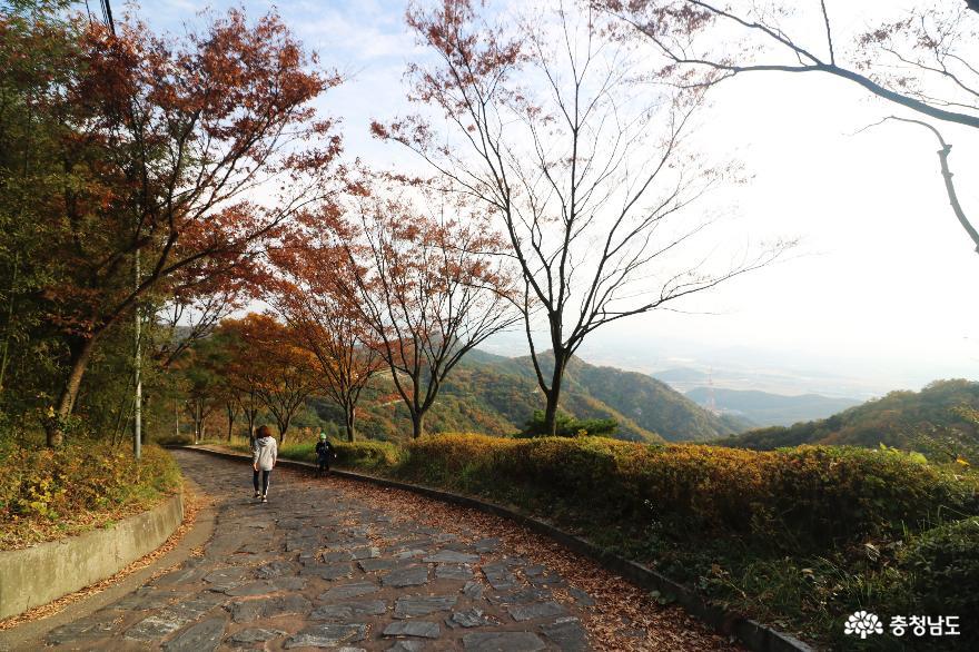 오색빛깔 가을 단풍과 해질녁 노을풍경이 예쁜  영인산 8