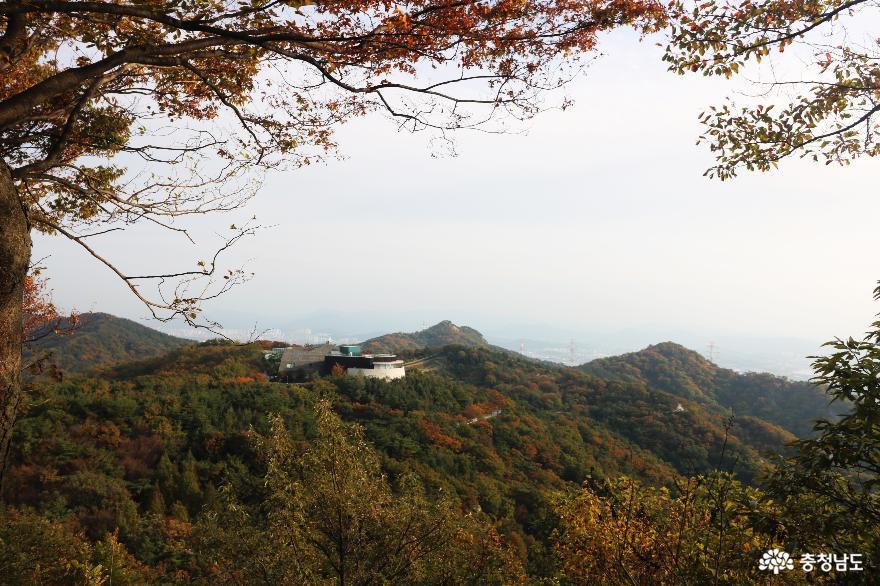오색빛깔 가을 단풍과 해질녁 노을풍경이 예쁜  영인산 9