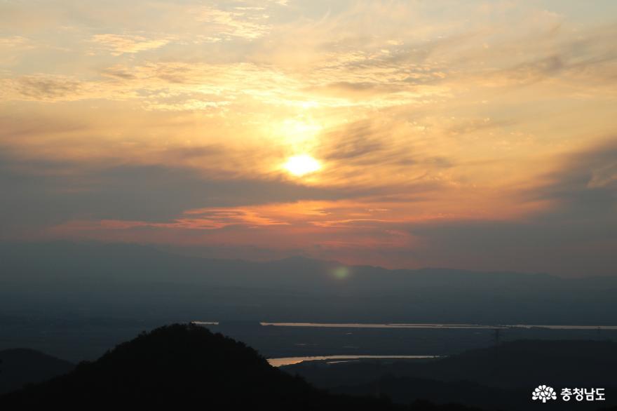 오색빛깔 가을 단풍과 해질녁 노을풍경이 예쁜  영인산 17