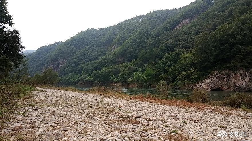 적벽강 비밀의 섬 <금산 방우리 마을> 25