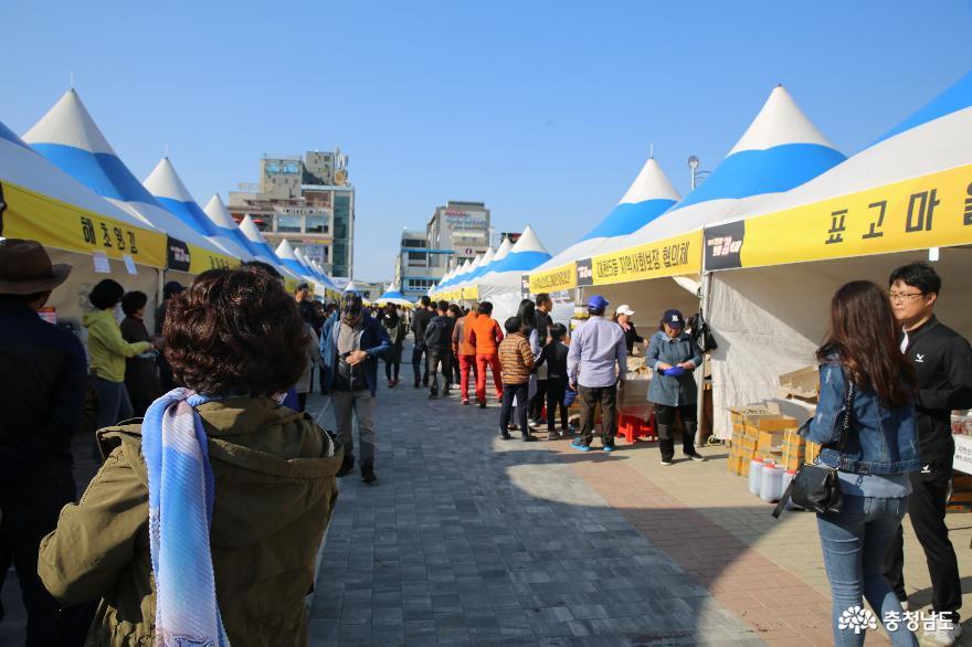 보령 대천해수욕장에서 열린 김축제에서 만난 음식 6