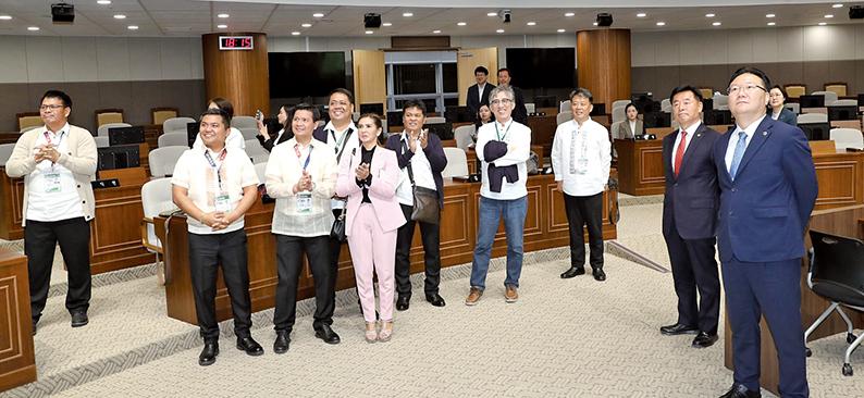 필리핀 포락시-충남도 의장단 협력 '물꼬'