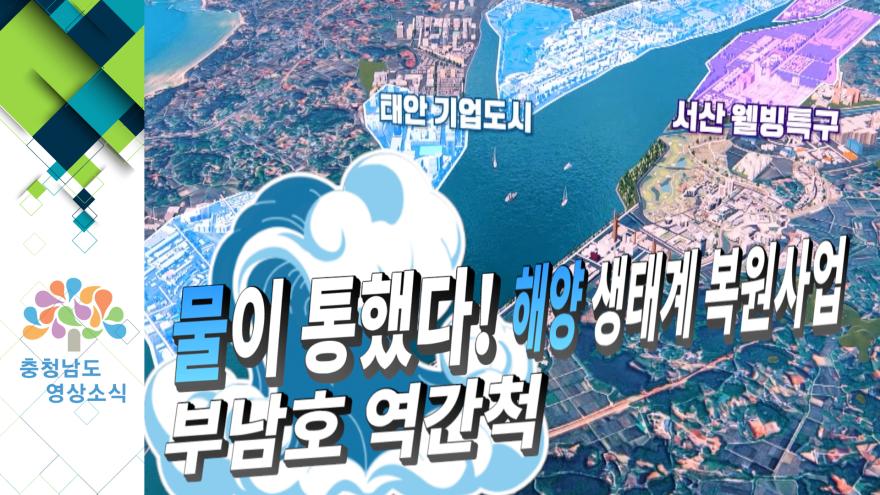 [NEWS]물이 통했다! 해양 생태계 복원사업 (부남호 역간척)