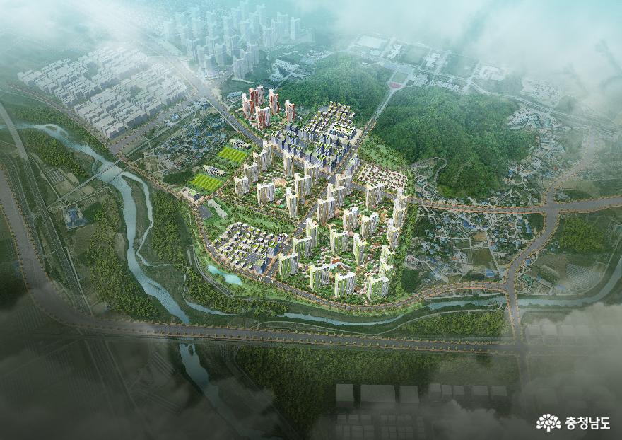 아산시, 아산 탕정지구 도시개발사업'순조로운 진행' 1