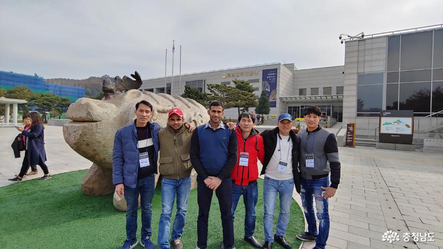 공주 국립박물관 진묘수