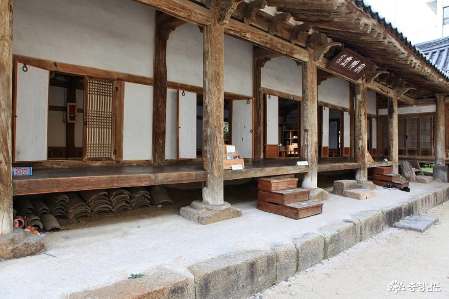 홍성 안회당·여하정, 쉬어가기 좋은 곳