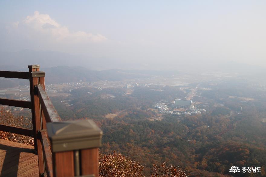 민족의 성지 독립기념관을 품고 있는 흑성산 산행기 12