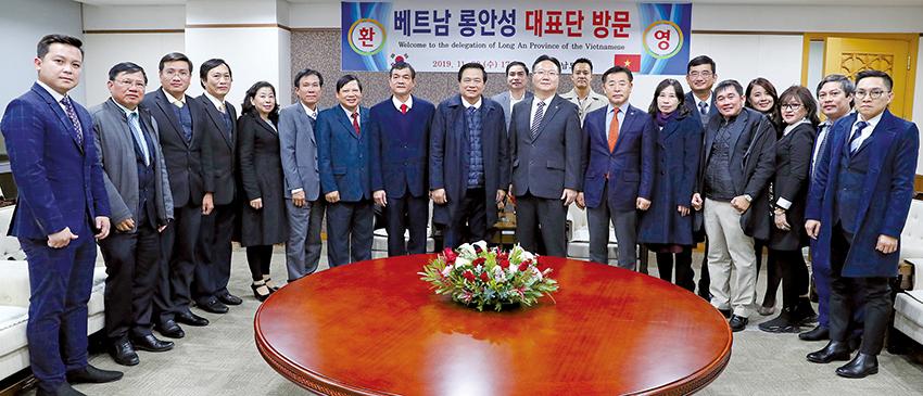 베트남 롱안성-충남도의회, 농수산·관광 분야 시설 교류 '본격화'