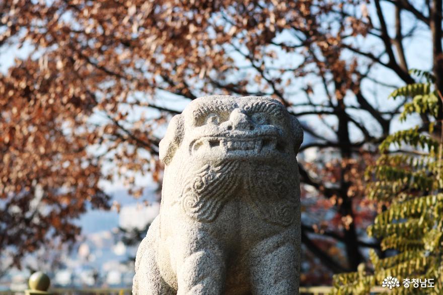 역사적으로 유래깊은 천안 남산공원을 거닐다
