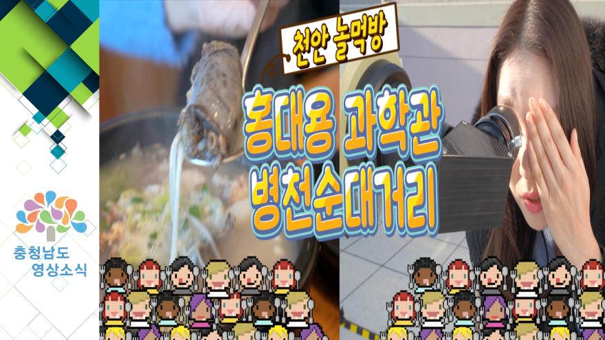 [VCR]천안 놀·먹방 홍대용과학관 / 병천순대거리