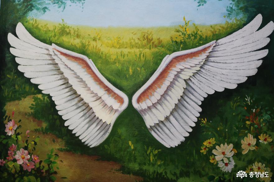 감성이 몽글몽글 피어나는 미나릿길 벽화마을 7
