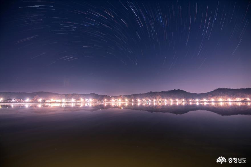 밤낮으로 아름다운 신정호의 초겨울 풍경