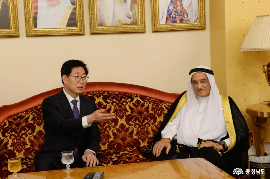 바레인 방문 양지사, '파격 예우' 받았다 2