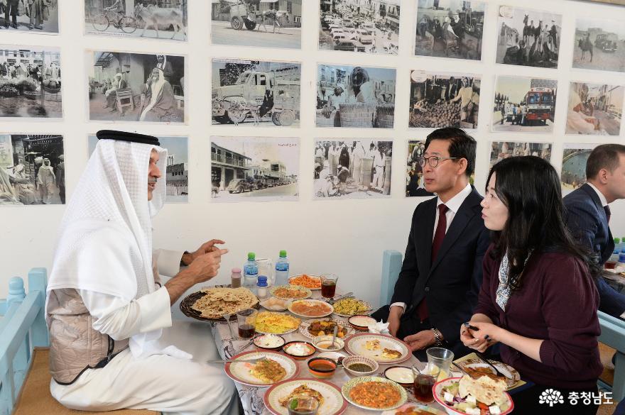바레인 방문 양지사, '파격 예우' 받았다 3