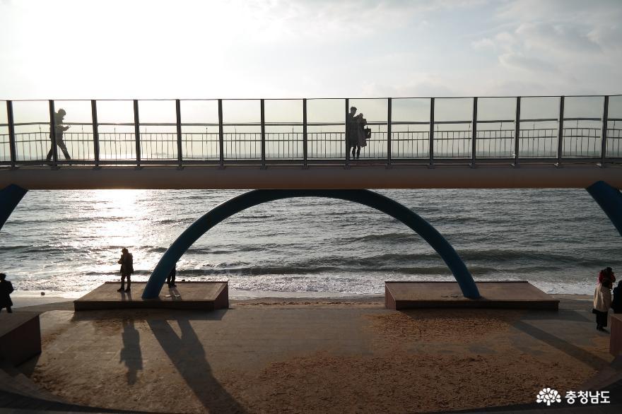 외국 유학생들도 반한 겨울 대천해수욕장