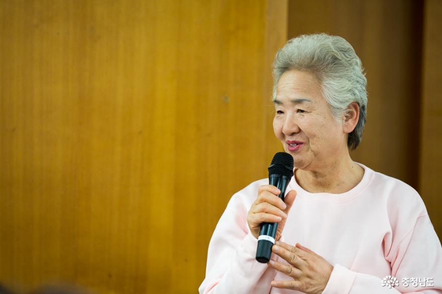 백석올미 영농조합 김금순 대표