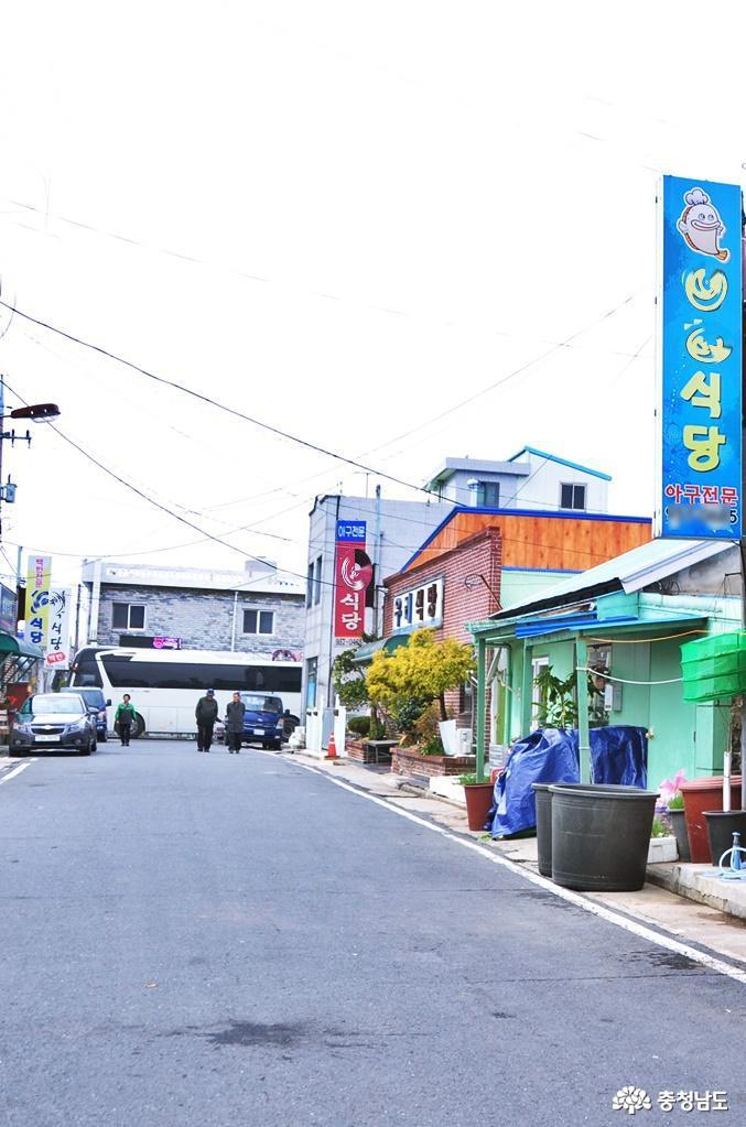 """30년 전통의 장항6080 음식골목 """"맛나로(路)""""에서 3"""