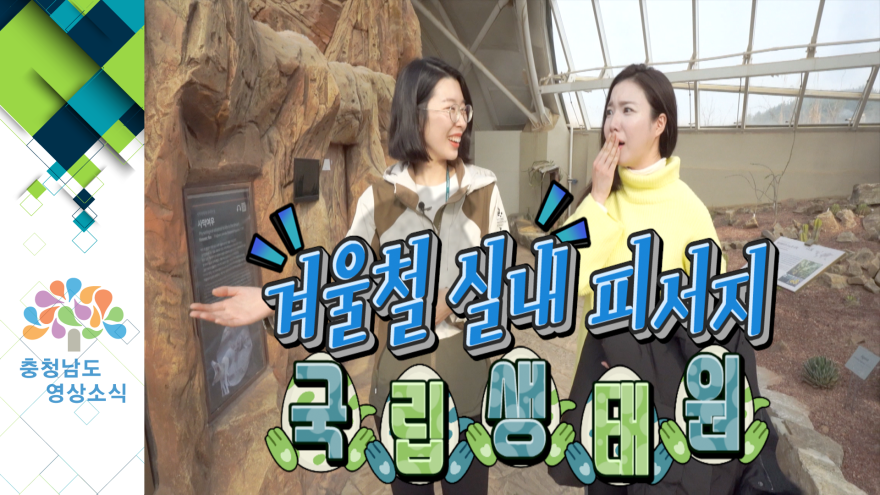 [VCR]겨울철 실내피서지 국립생태원