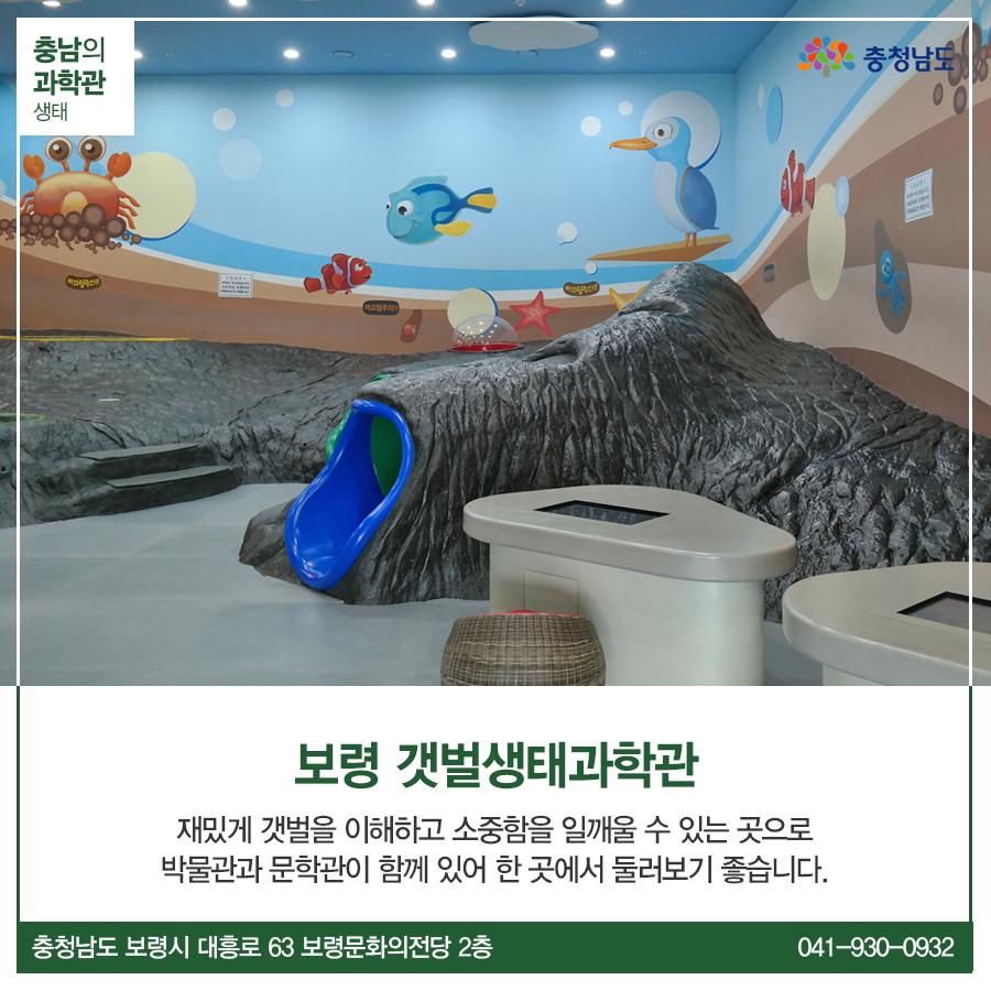 생태 - 보령 갯벌생태과학관