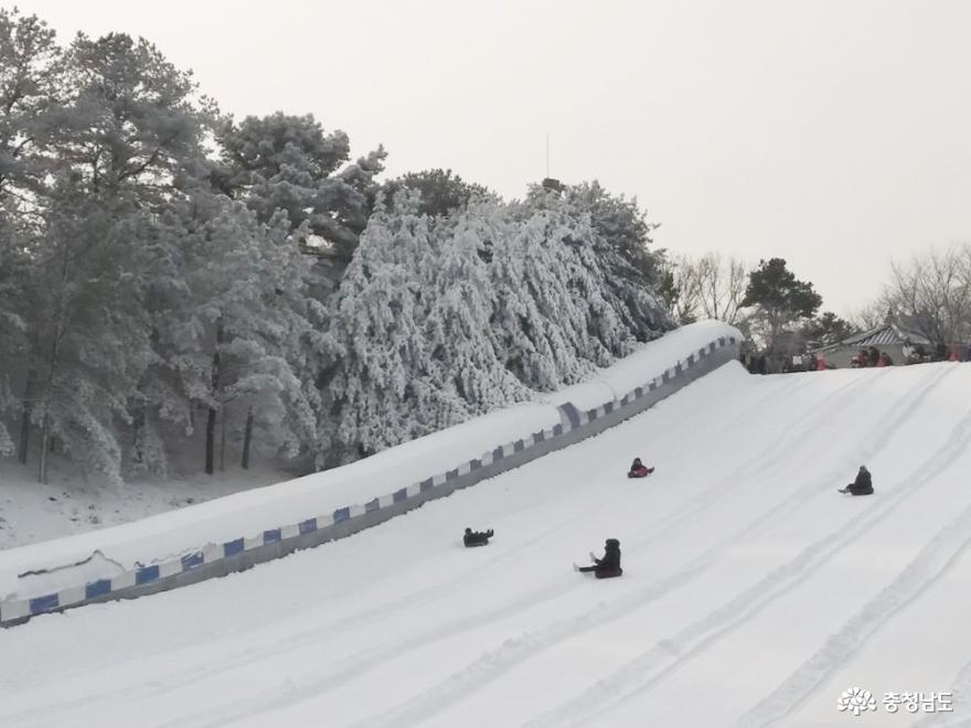 눈이 오지 않아 아쉬운 올 겨울, 눈 보러 눈썰매장 출동!!