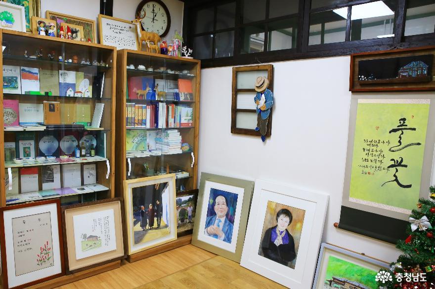 문학으로 소통하는 나태주 시인의 공주 풀꽃문학관의 겨울 11
