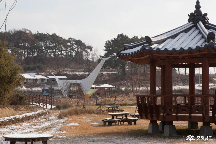 철새도 보고 걷기에 좋은 길, 당진 당산저수지 생태공원