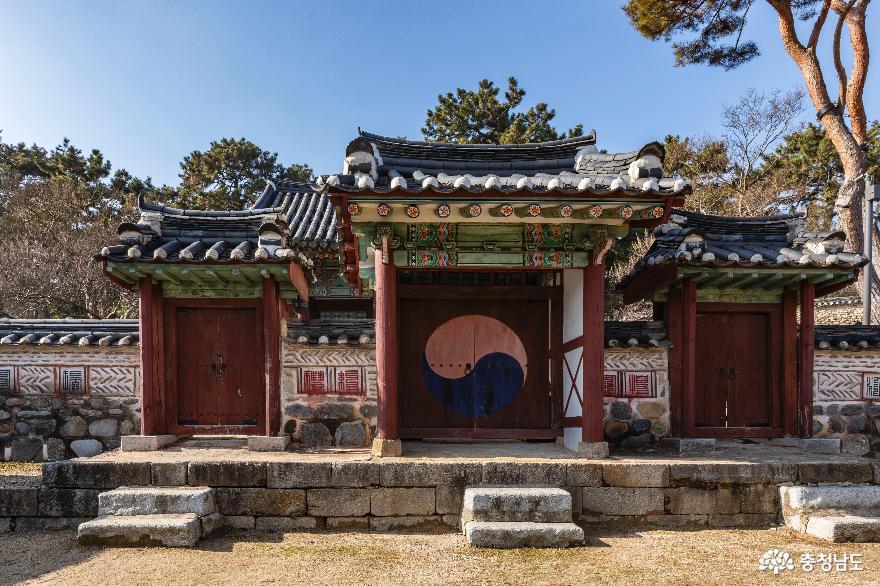 경내 숭례사의 내삼문