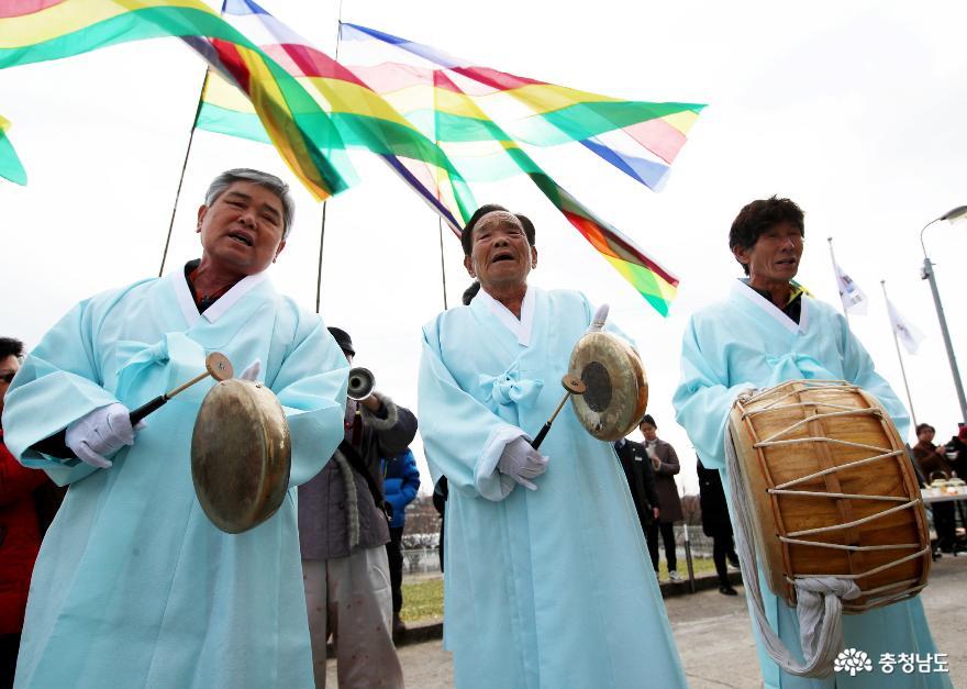 태안군, 정월 초 황도에서 '새해 만복' 기원하세요!
