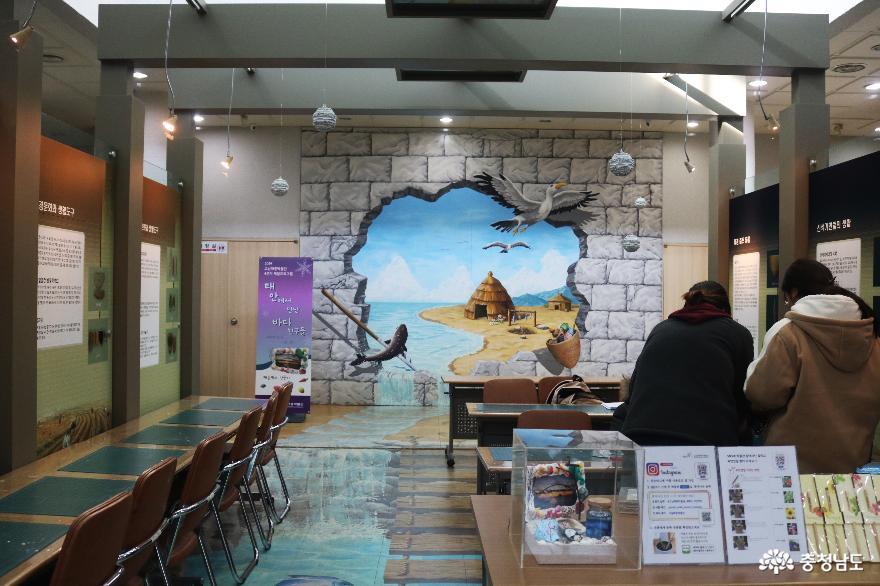 국내 유일의 바다가 보이는 고남패총박물관 2
