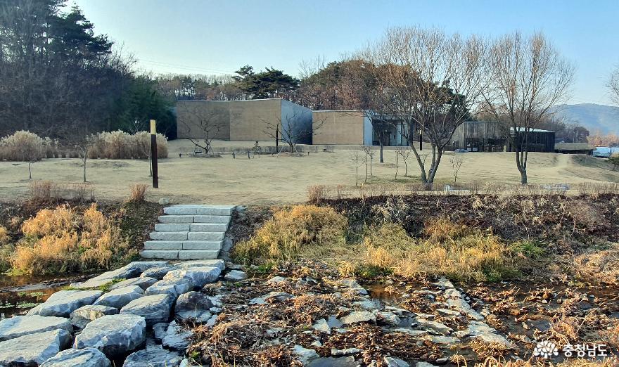 이응노의 집 전경.