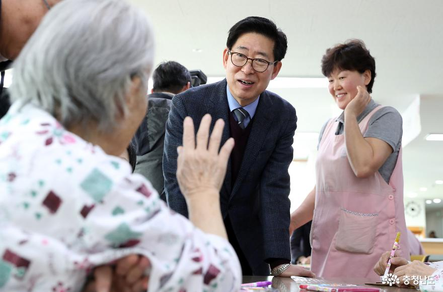 양승조지사, 설 연휴 방역 비상근무자 격려 3