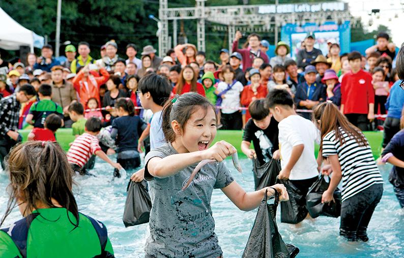 지난해 개최된 서산 삼길포우럭축제 모습