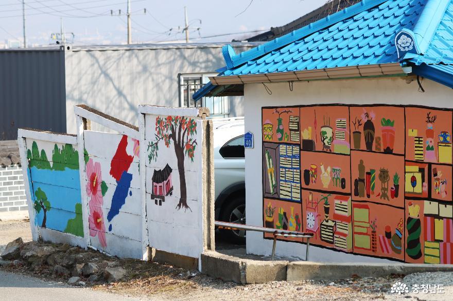 벽화가 예쁜  직산 군서리 마을로 역사탐방 나들이 어때요?