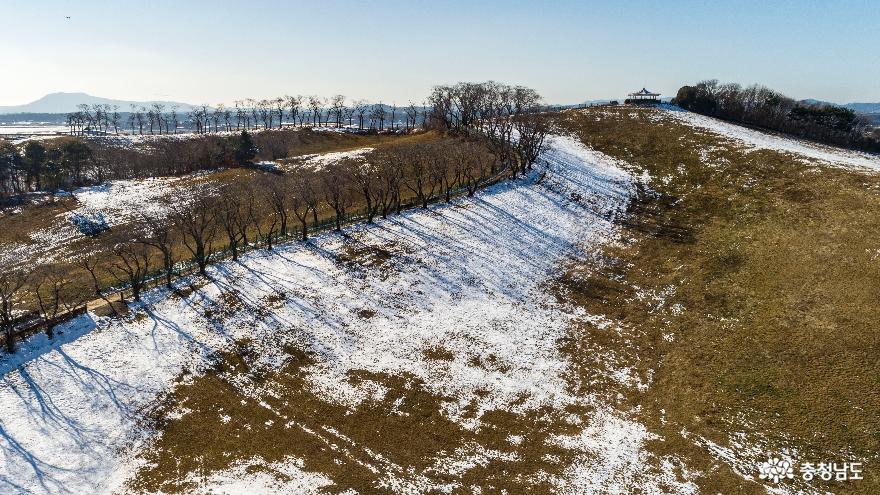 겨울의 끝, 서산목장의 '환상적인 설경' 1