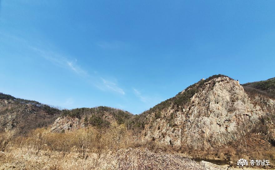 천혜의 경관 품은 금산 적벽강 사진