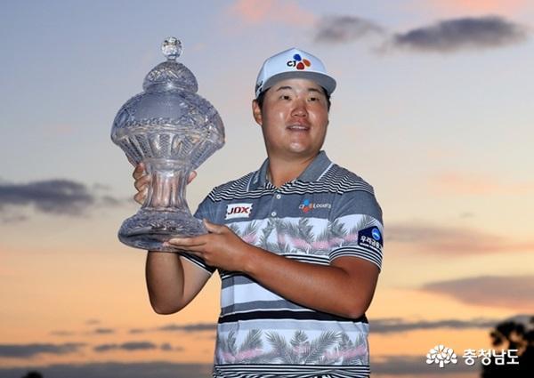 천안고 출신 프로골퍼 '임성재', PGA 투어 생애 첫 우승