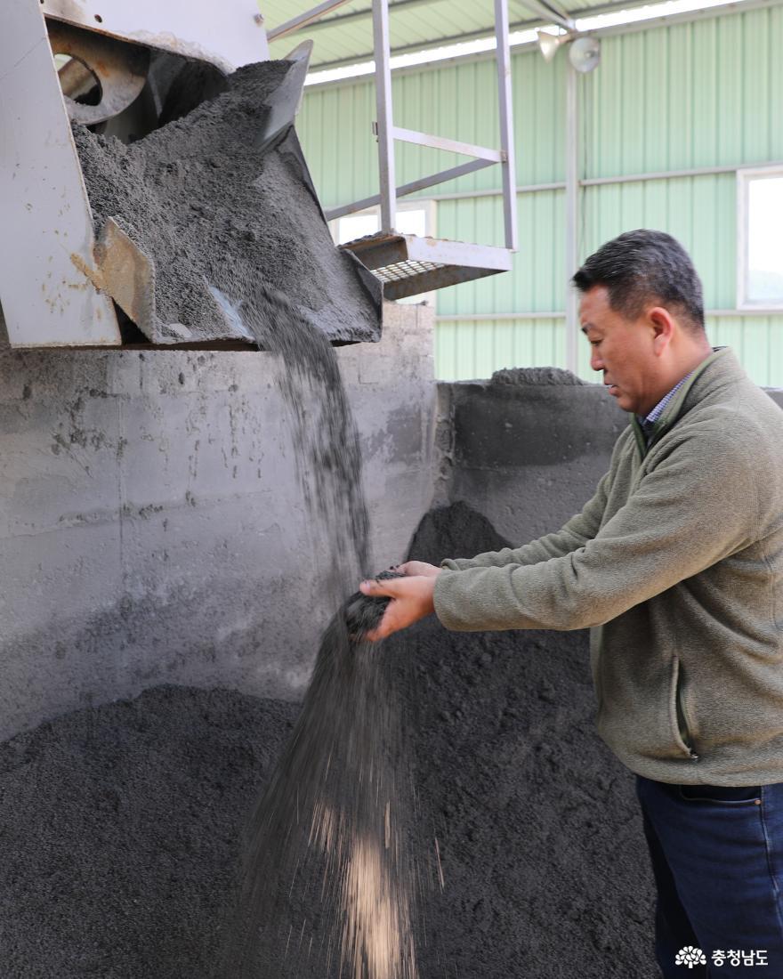 태안화력 '석탄회'를  '순환재생 골재'로 본격 생산 들어간 송우산업(주)