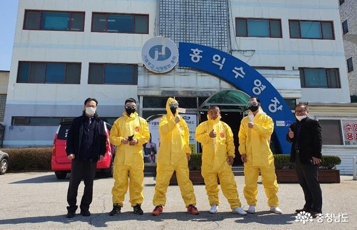홍익그룹, '코로나19 방역봉사단' 결성