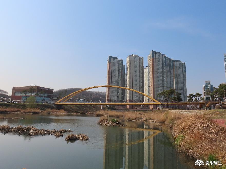천안아산역 3월 봄풍경