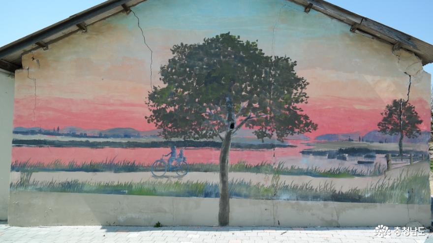 선장면 독립운동가 마을길의 벽화